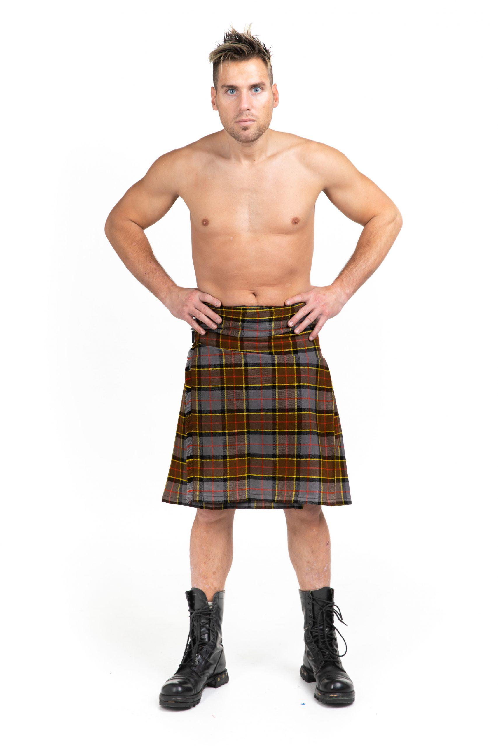 Andover Tartan 8 yard Kilt | Scottish Custom Made