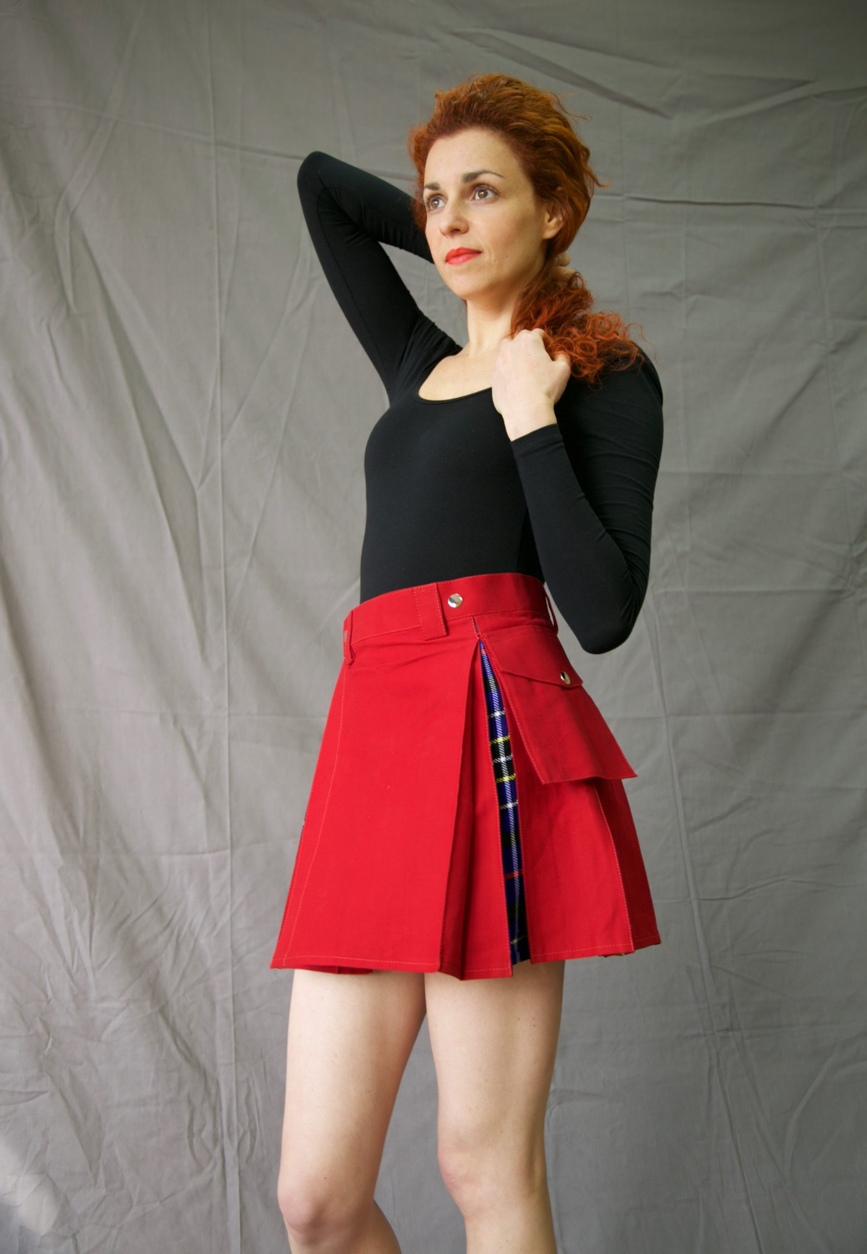 Two tone skirts